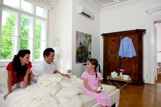 daikin pr sentiert neues klimager t speziell f r schlafzimmer. Black Bedroom Furniture Sets. Home Design Ideas